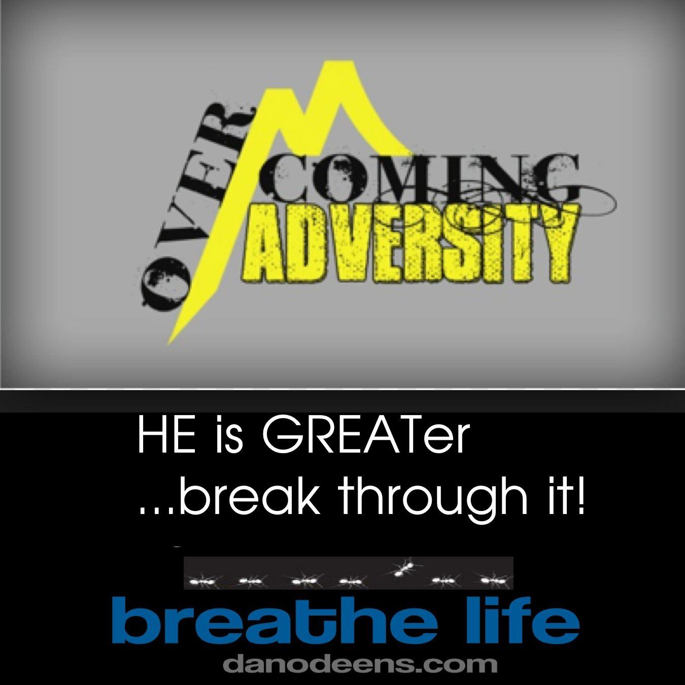 break through it