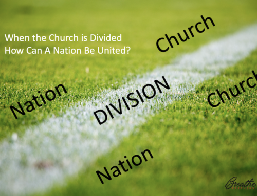 DIVISION. Can A Nation Be United When The Church Is Divided?